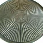Grill round aluminum for gas stoves