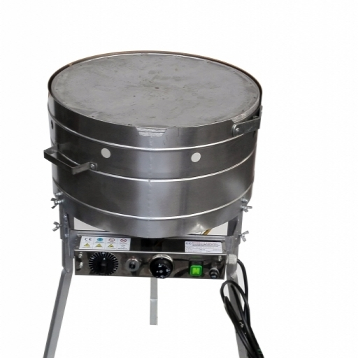STOVE ROUND STAINLESS STEEL ELECTRIC