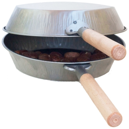 Oven for chestnuts with wooden handle ø 26 cm